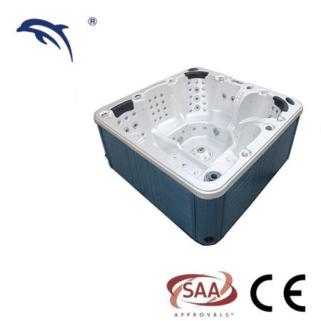 Outdoor Massage Spa Tub 4 Person With Bluetooth , Wifi , Music Speakers